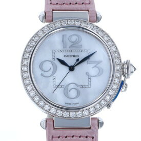 カルティエ CARTIER パシャ 42 WJ124004 ホワイト文字盤 レディース 腕時計 【新品】