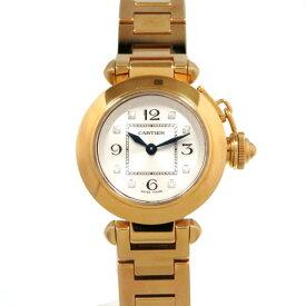 カルティエ CARTIER パシャ ミスパシャ WJ124015 シルバー文字盤 レディース 腕時計 【新品】