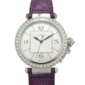 カルティエ CARTIER パシャ 42 WJ120251 シルバー文字盤 メンズ 腕時計 【新品】