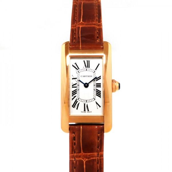 カルティエ CARTIER タンクアメリカン SM W2607456 ホワイト文字盤 レディース 腕時計 【新品】