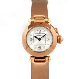 カルティエ CARTIER パシャ ミスパシャ WJ124028 シルバー文字盤 レディース 腕時計 【新品】