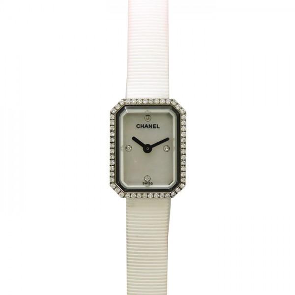 シャネル CHANEL プルミエール H2433 ホワイトシェル文字盤 レディース 腕時計 【中古】