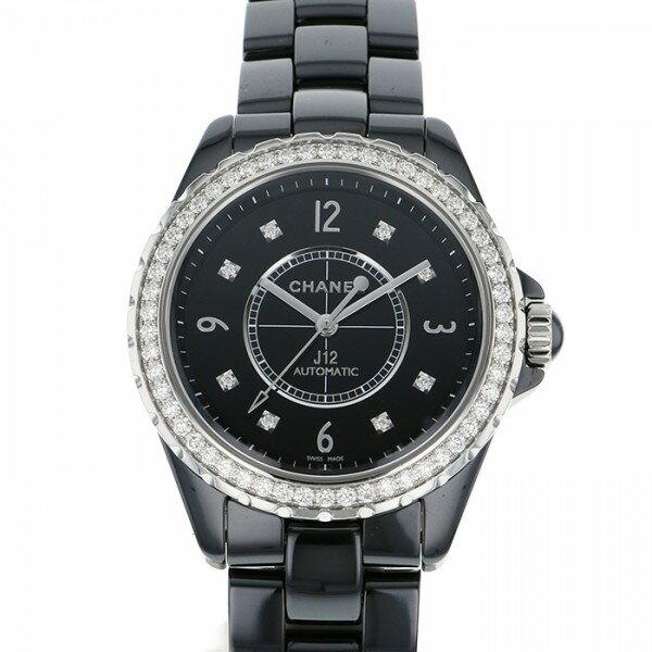 シャネル CHANEL J12 H3109 ブラック文字盤 メンズ 腕時計 【中古】