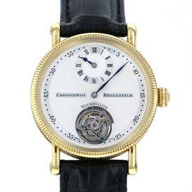 クロノスイス CHRONOSWISS その他 レギュレーター トゥールビヨン CH3121 シャンパン文字盤 メンズ 腕時計 【中古】