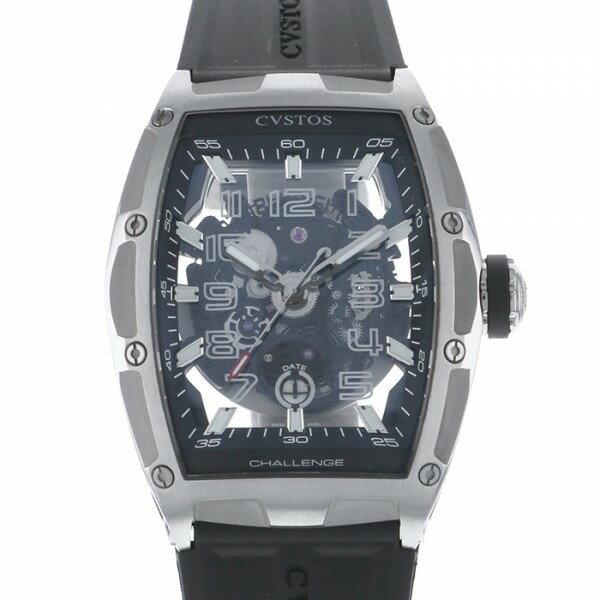 クストス CVSTOS チャレンジ ジェットライナー CVT-JET スケルトン文字盤 メンズ 腕時計 【新品】