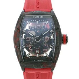 クストス CVSTOS その他 チャレンジ ジェットライナー カーボン CVT-JET2-SL-RED FGDC グレー文字盤 メンズ 腕時計 【新品】