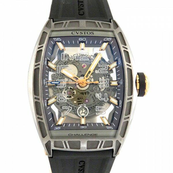 クストス CVSTOS チャレンジジェットライナー CVT-JET CP5NTT ブラック文字盤 メンズ 腕時計 【新品】