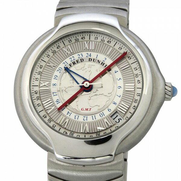 ダンヒル DUNHILL 0509/1884 シルバー文字盤 メンズ 腕時計 【中古】