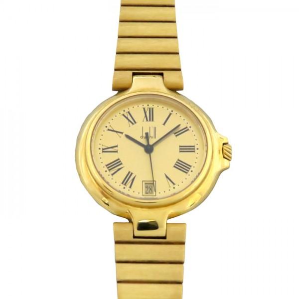 ダンヒル DUNHILL その他 クォーツ 腕時計 - シャンパン文字盤 レディース 腕時計 【中古】