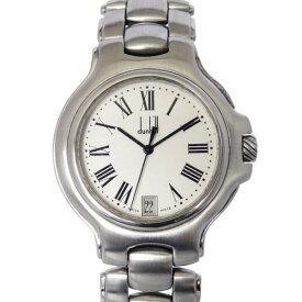 【ポイントバックセール 3%ポイント還元】 ダンヒル DUNHILL その他 ロンディニウム - ホワイト文字盤 レディース 腕時計 【中古】