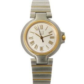 【ポイントバックセール 3%ポイント還元】 ダンヒル DUNHILL その他 ミレニアム - ホワイト文字盤 レディース 腕時計 【中古】