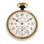 エルジン ELGIN 懐中時計 ホワイト文字盤 中古 腕時計 メンズ