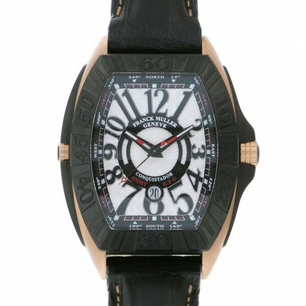 フランク・ミュラー FRANCK MULLER コンキスタドール グランプリ 9900SC DT GPG TT NR 5N シルバー文字盤 メンズ 腕時計 【新品】
