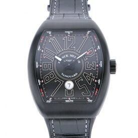 【ポイントバックセール 3%ポイント還元】 フランク・ミュラー FRANCK MULLER ヴァンガード V45SC DT TT NR BR TT ブラック文字盤 メンズ 腕時計 【新品】