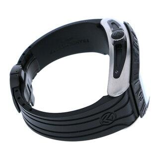 フランク・ミュラーFRANCKMULLERコンキスタドールグランプリ9900SCDTPGPTTNRTTブラック文字盤メンズ腕時計【中古】