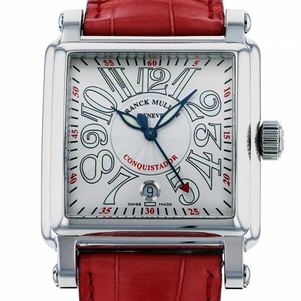 フランク・ミュラー FRANCK MULLER コンキスタドール コルテス 10000HSC シルバー文字盤 メンズ 腕時計 【新品】