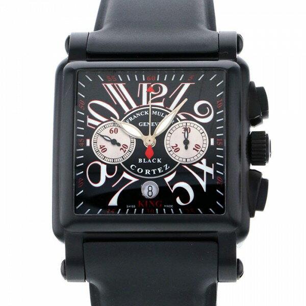 フランク・ミュラー FRANCK MULLER コンキスタドール コルテス キングクロノ 10000KCC NR シルバー文字盤 メンズ 腕時計 【新品】
