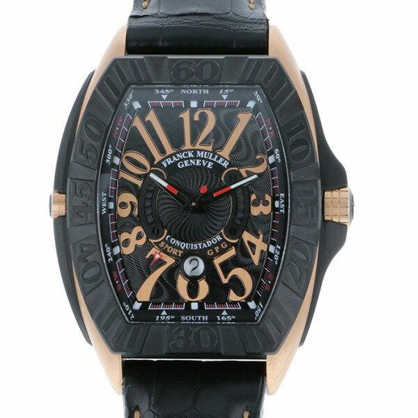 フランク・ミュラー FRANCK MULLER コンキスタドール グランプリ 9900SCDTGPG5NBL ブラック文字盤 メンズ 腕時計 【新品】
