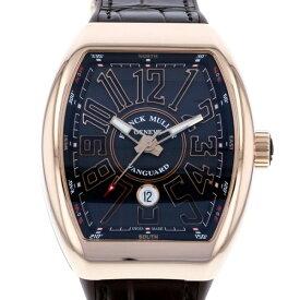 【ポイントバックセール 3%ポイント還元】 フランク・ミュラー FRANCK MULLER ヴァンガード V45SCDT5NNR ブラック文字盤 メンズ 腕時計 【新品】