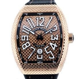 【ポイントバックセール 3%ポイント還元】 フランク・ミュラー FRANCK MULLER ヴァンガード ゴールドピクセル V45SC DT GOLD PXL ゴールド文字盤 メンズ 腕時計 【新品】