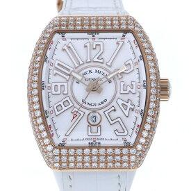 【ポイントバックセール 3%ポイント還元】 フランク・ミュラー FRANCK MULLER ヴァンガード ホワイト V45SCDTT5NBC ホワイト文字盤 メンズ 腕時計 【新品】