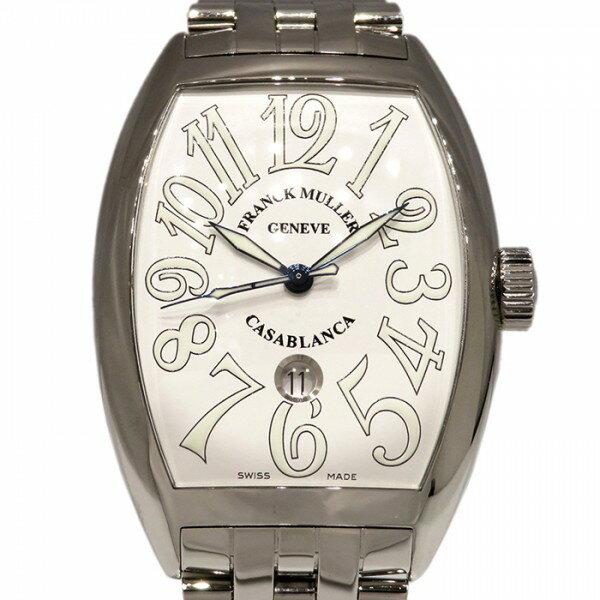 フランク・ミュラー FRANCK MULLER カサブランカ デイト 9880 C DT ホワイト文字盤 メンズ 腕時計 【新品】