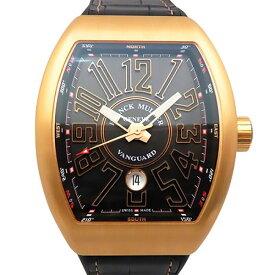 【ポイントバックセール 3%ポイント還元】 フランク・ミュラー FRANCK MULLER ヴァンガード V45SC DT 5N NR ブラック文字盤 メンズ 腕時計 【新品】