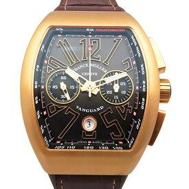 【ポイントバックセール 3%ポイント還元】 フランク・ミュラー FRANCK MULLER ヴァンガード クロノグラフ V45CCDT 5N ブラック文字盤 メンズ 腕時計 【新品】