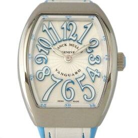 【ポイントバックセール 3%ポイント還元】 フランク・ミュラー FRANCK MULLER ヴァンガード V32QZACBL ホワイト文字盤 レディース 腕時計 【新品】
