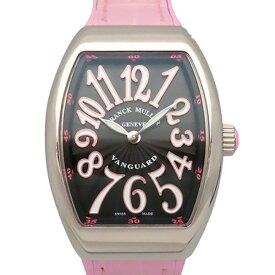 【ポイントバックセール 3%ポイント還元】 フランク・ミュラー FRANCK MULLER ヴァンガード レディ V32QZACRS ブラック文字盤 レディース 腕時計 【新品】