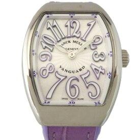【ポイントバックセール 3%ポイント還元】 フランク・ミュラー FRANCK MULLER ヴァンガード V32QZ AC VL シルバー文字盤 レディース 腕時計 【新品】