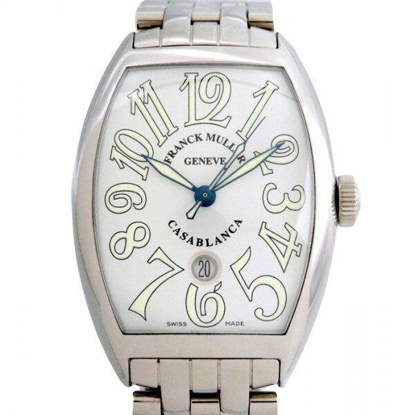 フランク・ミュラー FRANCK MULLER カサブランカ 8880CASA ホワイト文字盤 メンズ 腕時計 【新品】
