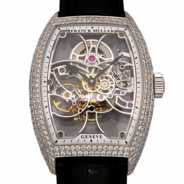 フランク・ミュラー FRANCK MULLER トノウカーベックス 7デイズ パワーリザーブ スケルトン 8880BS6SQTD スケルトン文字盤 メンズ 腕時計 【新品】