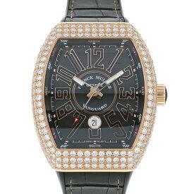【ポイントバックセール 3%ポイント還元】 フランク・ミュラー FRANCK MULLER ヴァンガード ケースダイヤ V45SC DT D 5N NR ブラック文字盤 メンズ 腕時計 【中古】