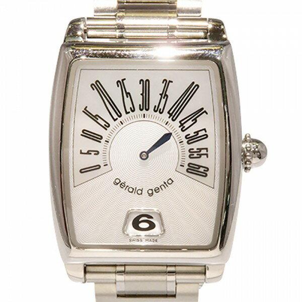 ジェラルド・ジェンタ GERALD GENTA アリーナ レトロ ソロ RSO.M.10 アイボリー文字盤 メンズ 腕時計 【中古】