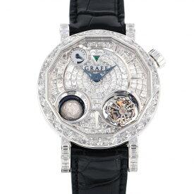 グラフ GRAFF その他 ザ ジャイログラフ 48mm MGG48WGDF 全面ダイヤ文字盤 メンズ 腕時計 【新品】