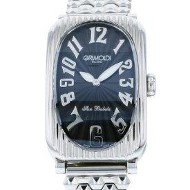 グリモルディ GRIMOLDI サンバビラ SBS.GABKSL-M ブラック文字盤 新古品 腕時計 レディース