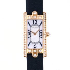 ハリー・ウィンストン HARRY WINSTON アヴェニュー C ミニ AVCQHM16RR017 ホワイト文字盤 新品 腕時計 レディース