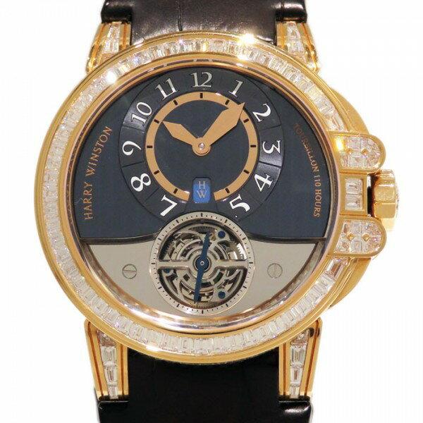 ハリー・ウィンストン HARRY WINSTON オーシャン トゥールビヨン 世界限定10本 OCEATO44RR009 グレー文字盤 メンズ 腕時計 【新品】