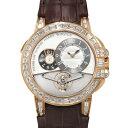 ハリー・ウィンストン HARRY WINSTON オーシャン トゥールビヨン ビウッグデイト世界限5本 OCEMTD45RR003 シルバー文字盤 メンズ 腕時...