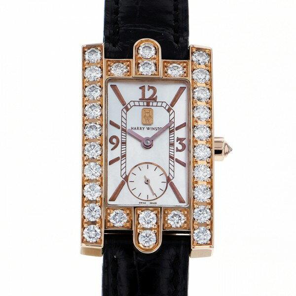 ハリー・ウィンストン HARRY WINSTON レディーアヴェニュー 310/LQRL.M/D3.1 ホワイトシェル文字盤 レディース 腕時計 【中古】