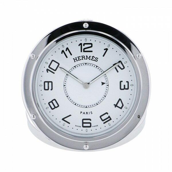 エルメス HERMES クリッパーリーベル CL1.510.130 ホワイト文字盤 腕時計 【中古】