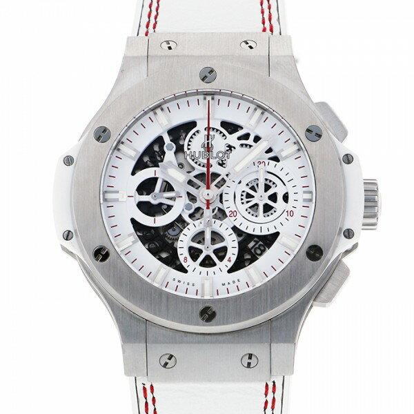 ウブロ HUBLOT ビッグバン アエロバン オールホワイト 311.SE.2113.VR.JDR14 ホワイト/スケルトン文字盤 メンズ 腕時計 【中古】