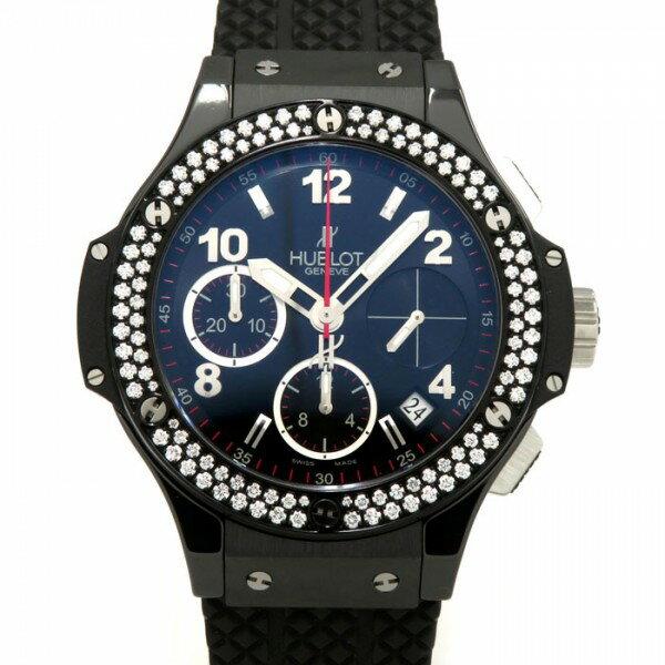 ウブロ HUBLOT ビッグバンブラックマジック ダイヤモンド 342.CV.130.RX.114 ブラック文字盤 レディース 腕時計 【新品】