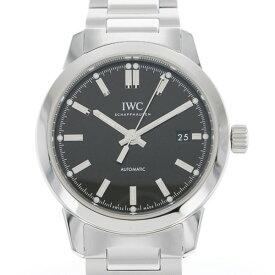 【ポイントバックセール 3%ポイント還元】 IWC IWC インヂュニア オートマティック IW357002 ブラック文字盤 メンズ 腕時計 【新品】