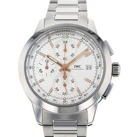 【ポイントバックセール 3%ポイント還元】 IWC IWC インヂュニア クロノグラフ IW380801 ホワイト文字盤 メンズ 腕時計 【新品】