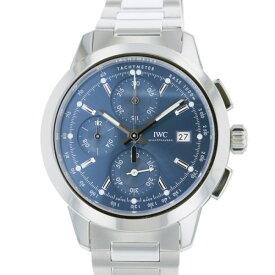 【ポイントバックセール 3%ポイント還元】 IWC IWC インヂュニア クロノグラフ IW380802 ブルー文字盤 メンズ 腕時計 【新品】