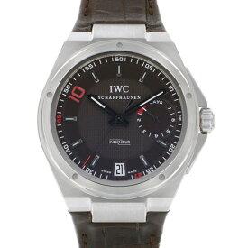 【ポイントバックセール 3%ポイント還元】 IWC IWC インヂュニア ビッグ インヂュニア 7デイズ ジネディーヌ・ジダン 世界限定500本 IW500508 ブラウン文字盤 メンズ 腕時計 【新品】