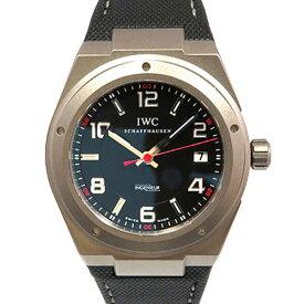 【ポイントバックセール 3%ポイント還元】 IWC IWC インヂュニア オートマティックAMG IW322703 ブラック文字盤 メンズ 腕時計 【中古】