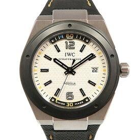 【ポイントバックセール 3%ポイント還元】 IWC IWC インヂュニア オートマティック クライメット・アクション 世界限定1000本 IW323402 ホワイト文字盤 メンズ 腕時計 【中古】